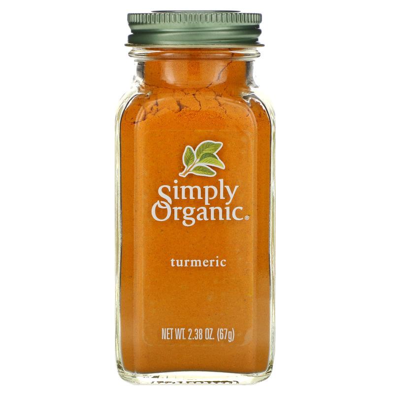 Simply Organic, Turmeric, 2.38 oz (67 g)