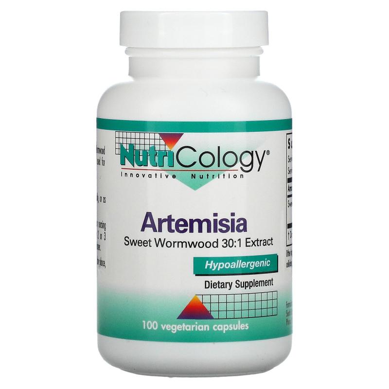 Nutricology, Artemisia, 100 Vegetarian Capsules
