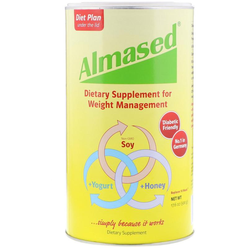 Almased USA, Almased, 17.6 oz (500 g)