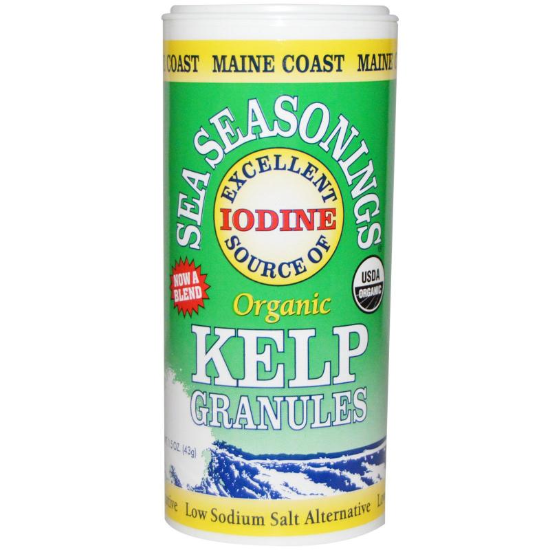 Maine Coast Sea Vegetables, Organic, Sea Seasonings, Kelp Granules, 1.5 oz (43 g)