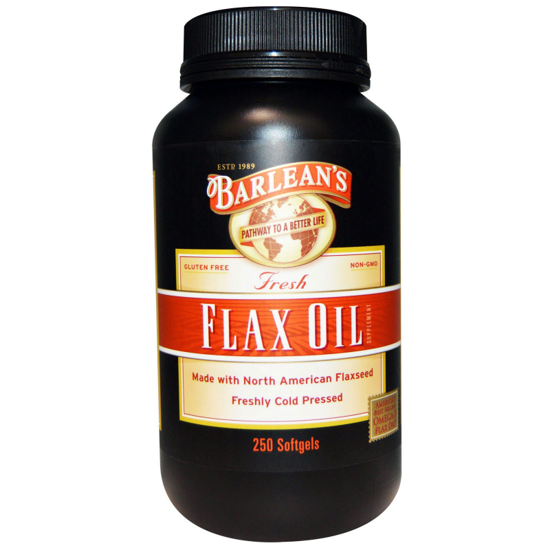 Barlean's, Fresh Flax Oil, 250 Softgels