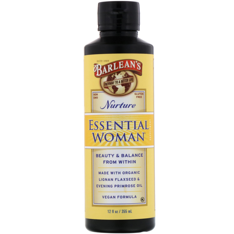 Barlean's, Essential Woman, Nurture, 12 fl oz (355 ml)