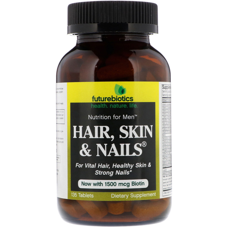 FutureBiotics, Nutrition For Men, Hair, Skin & Nails, 135 Tablets