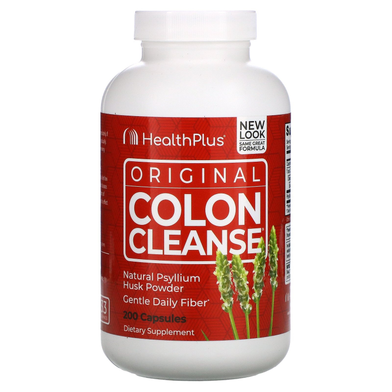 Health Plus, The Original Colon Cleanse, One, 625 mg, 200 Capsules