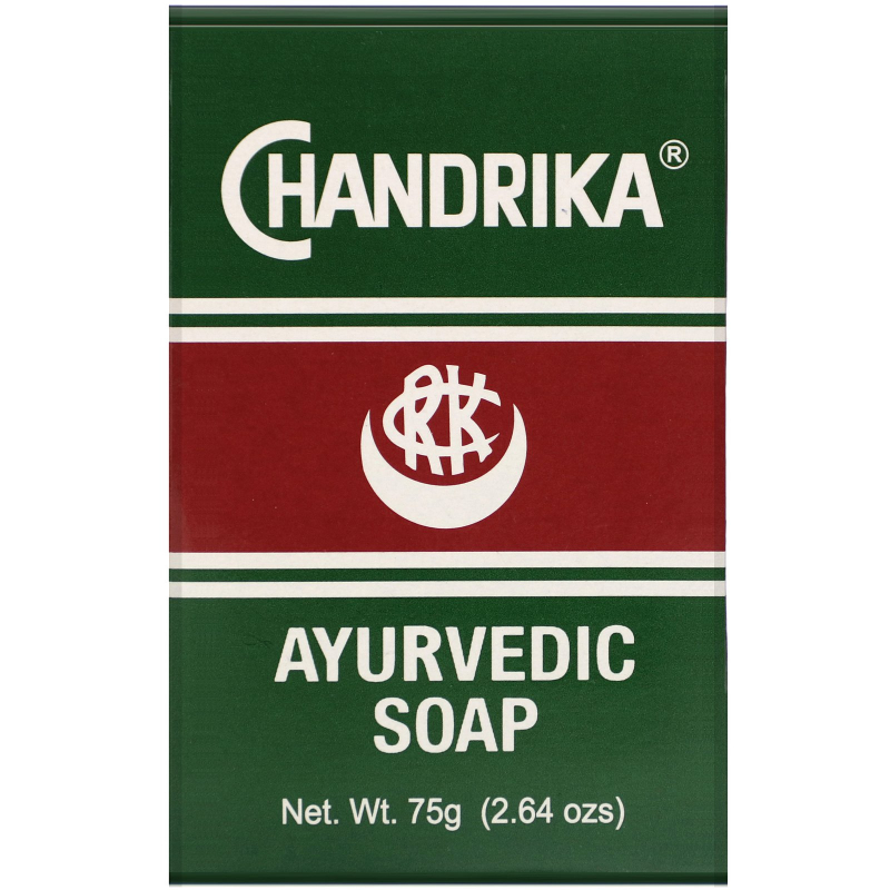 Chandrika Soap, Chandrika, Ayurvedic Soap, 1 Bar, 2.64 oz (75 g)