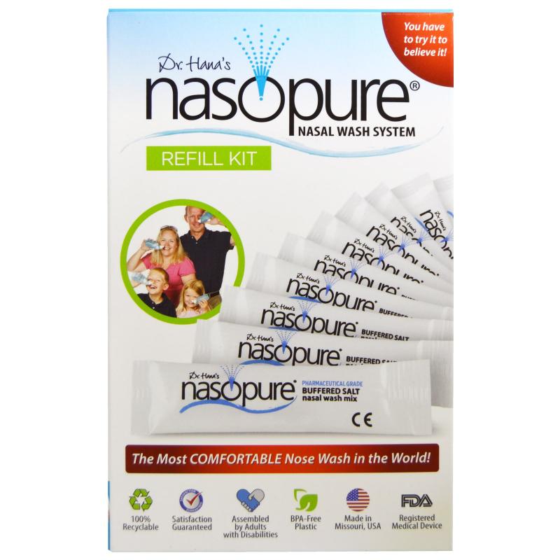 Nasopure, Nasal Wash System, Refill Kit, 1 Kit