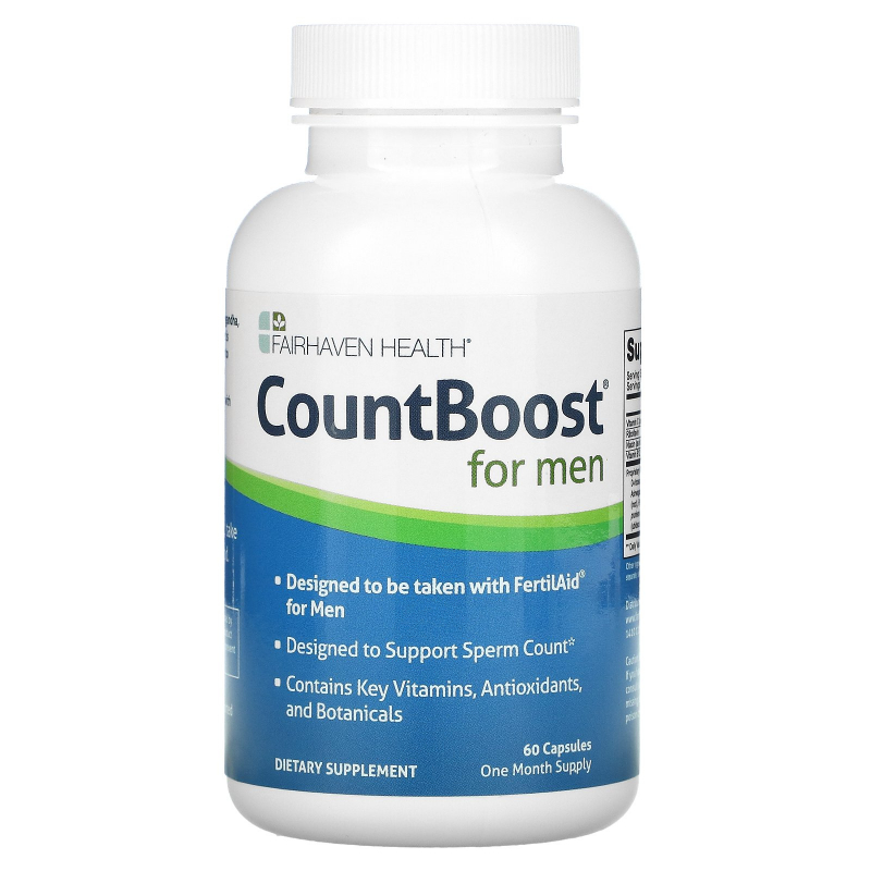 Fairhaven Health, CountBoost for Men, 60 Capsules