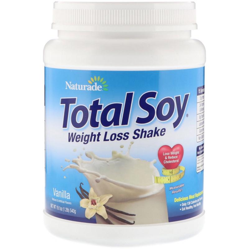 Naturade, Total Soy, Weight Loss Shake, Vanilla, 1.2 lbs (540 g)