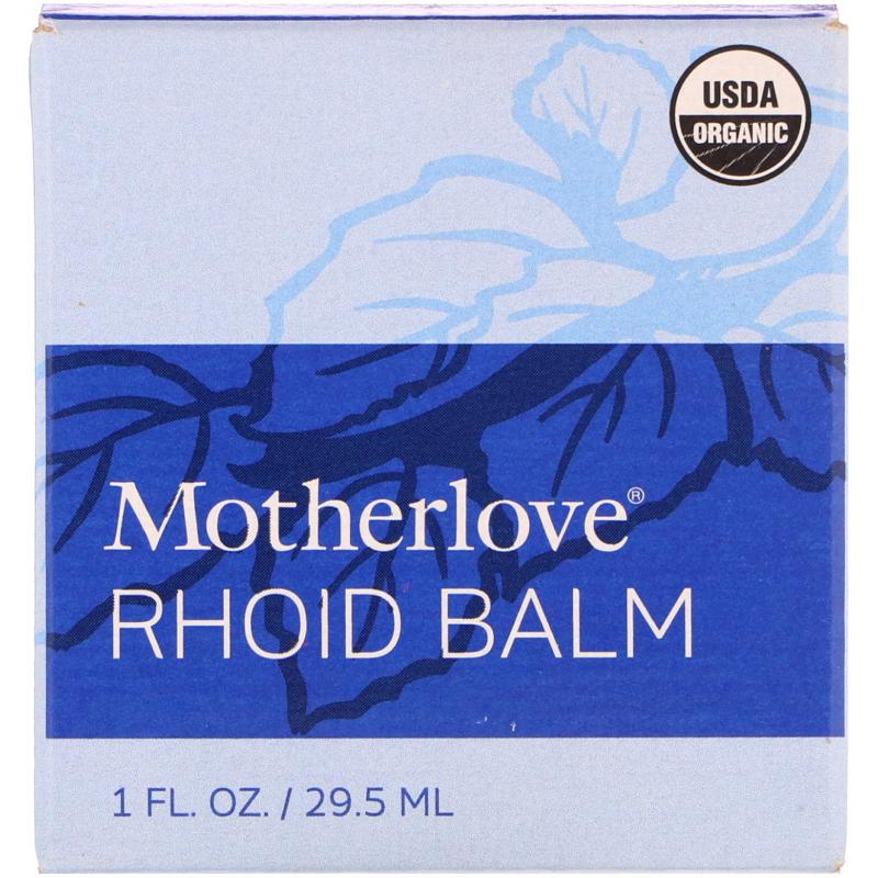 Motherlove, Rhoid Balm, 1 fl. oz (29.5 ml)