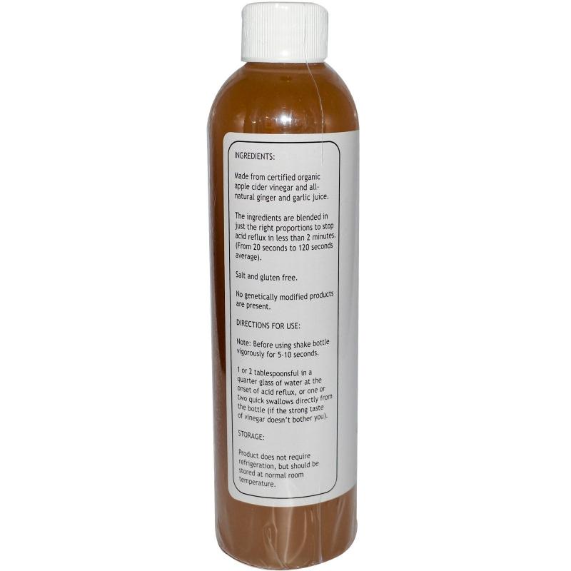 Caleb Treeze Organic Farm, Stops Acid Reflux, 8 fl oz (237 ml)