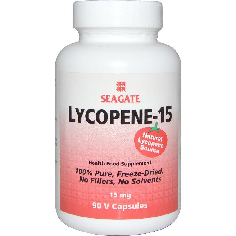 Seagate, Lycopene-15, 15 mg, 90 Vcaps