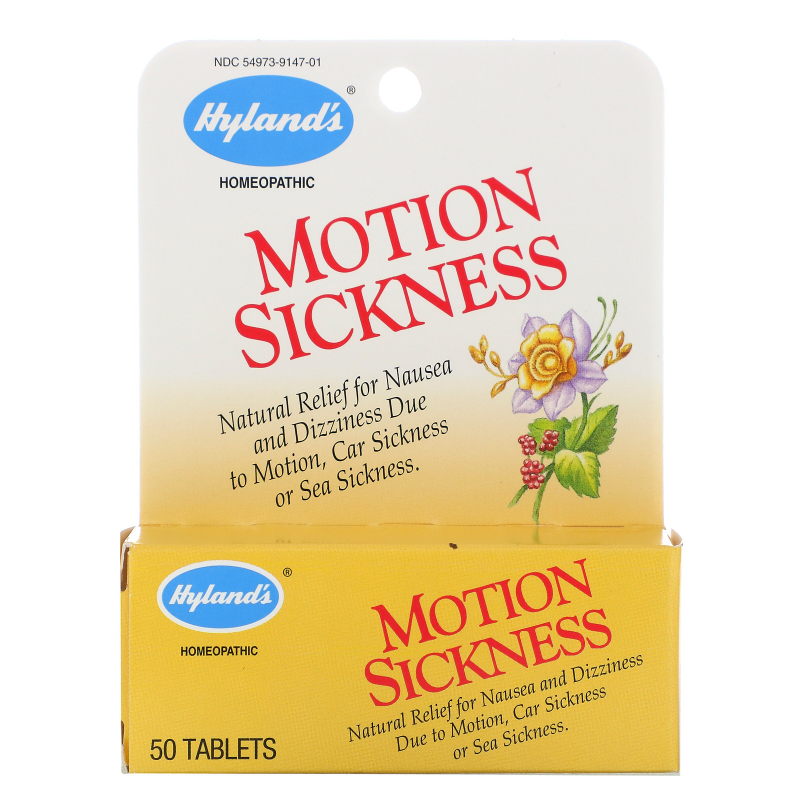 Hyland's, Motion Sickness, 50 Tablets