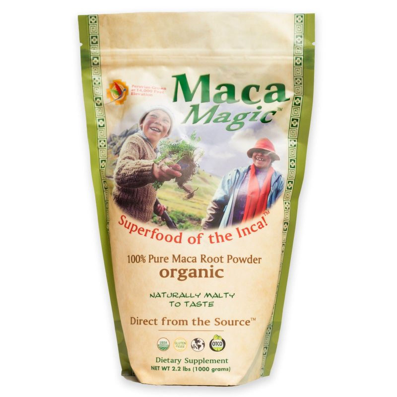 Maca Magic, Organic, 100% Pure Maca Root Powder , 2.2 lbs (1000 g)