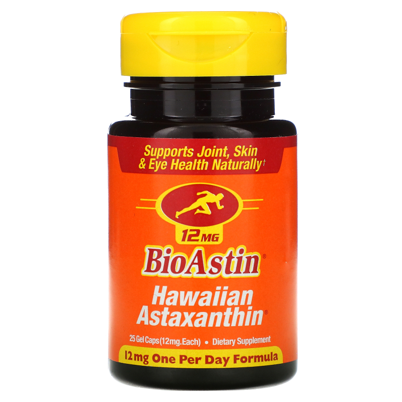 Nutrex Hawaii, BioAstin, 12 mg, 25 Gel Caps