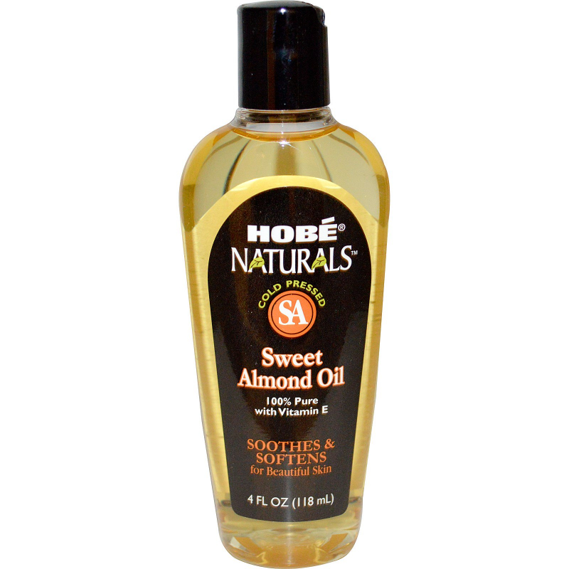 Hobe Labs, Naturals, Sweet Almond Oil, 4 fl oz (118 ml)
