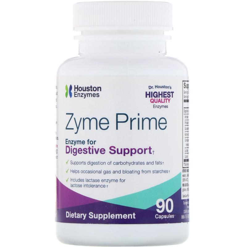Houston Enzymes, Zyme Prime, 90 Capsules