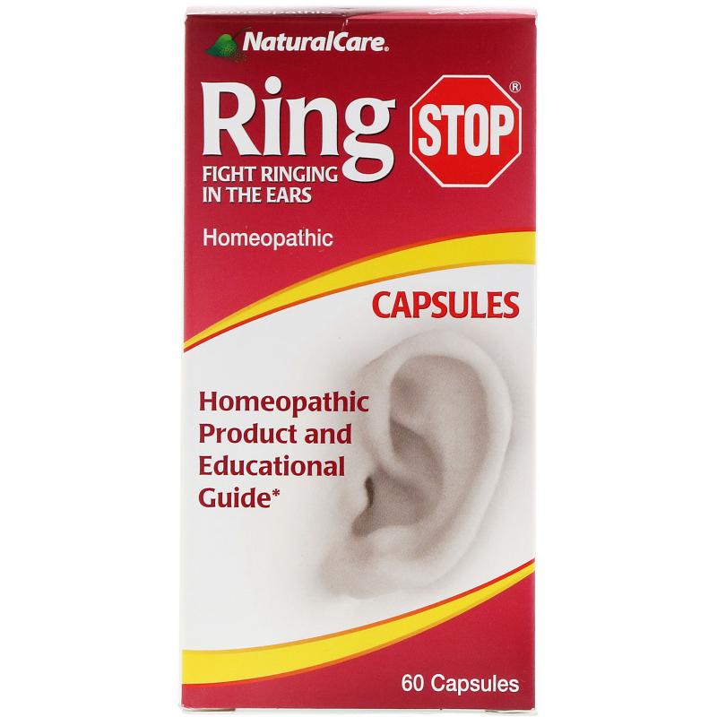 NaturalCare, RingStop, 60 Capsules