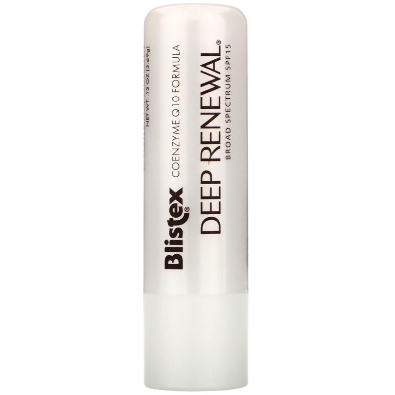 Blistex, Deep Renewal, Anti-Aging Treatment, Lip Protectant/Sunscreen, SPF 15, .13 oz (3.69 g)
