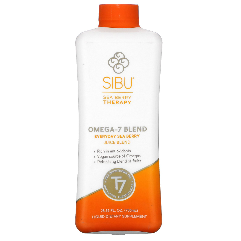 Sibu Beauty, Omega-7 Blend, Everyday Sea Berry Juice Blend, 25.35 fl oz (750 ml)
