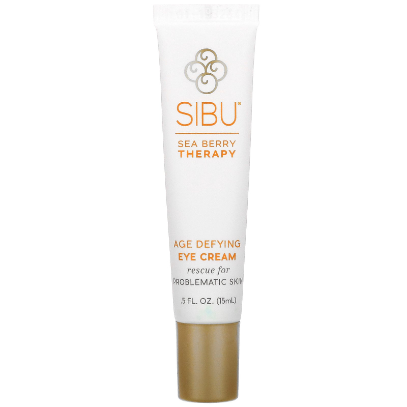 Sibu Beauty, Sea Berry Therapy, Age Defying Eye Cream, Sea Buckthorn Oil, T7, 0.5 fl oz (15 ml)