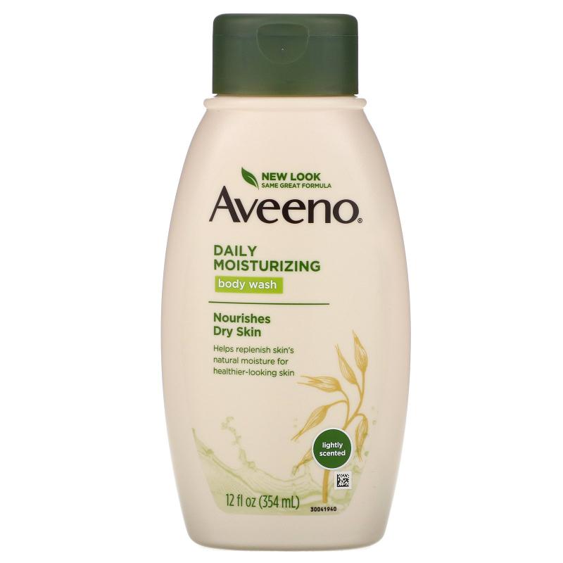 Aveeno, Active Naturals, Daily Moisturizing Body Wash, 12 fl oz (354 ml)