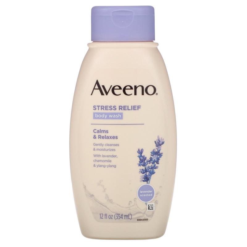 Aveeno, Active Naturals, Stress Relief Body Wash, 12 fl oz (354 ml)