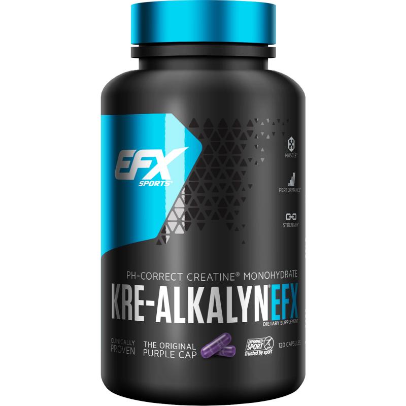 EFX Sports, Kre-Alkalyn EFX, 120 Capsules