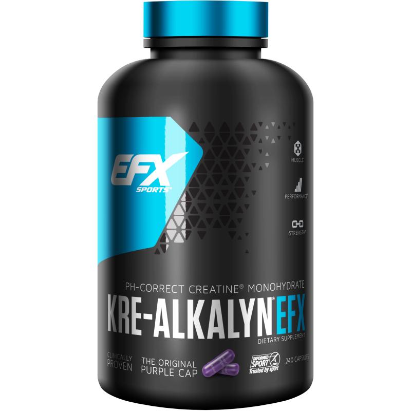 EFX Sports, Kre-Alkalyn EFX, 240 Capsules