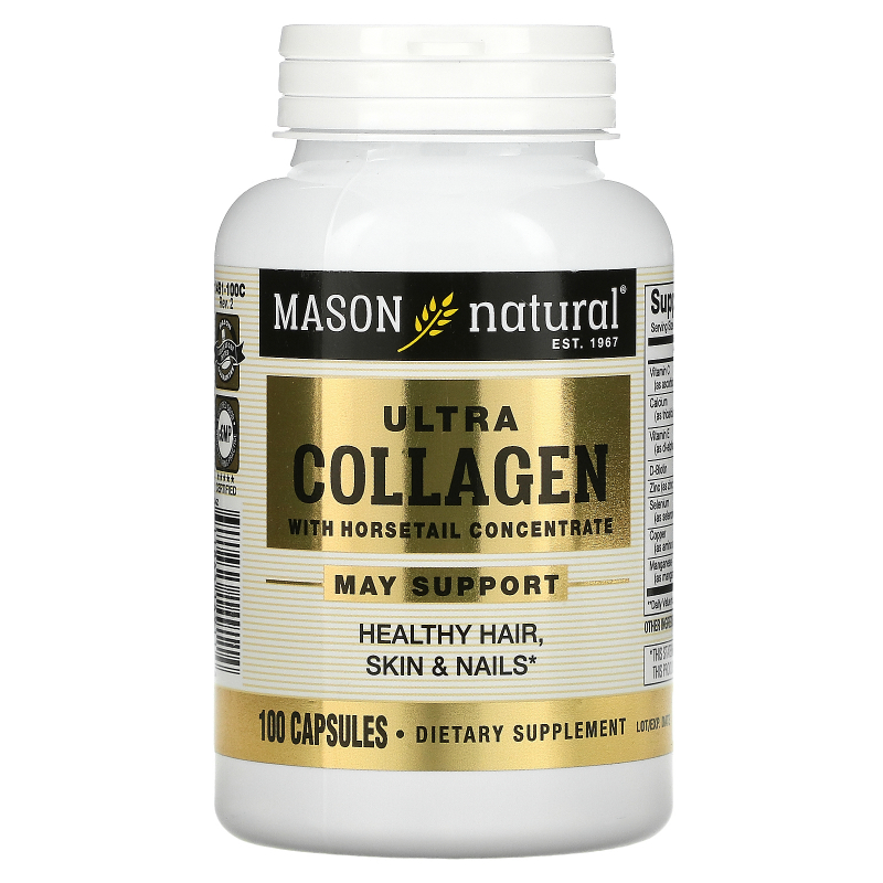 Mason Natural, Ultra Collagen Beauty Formula, 100  Capsules