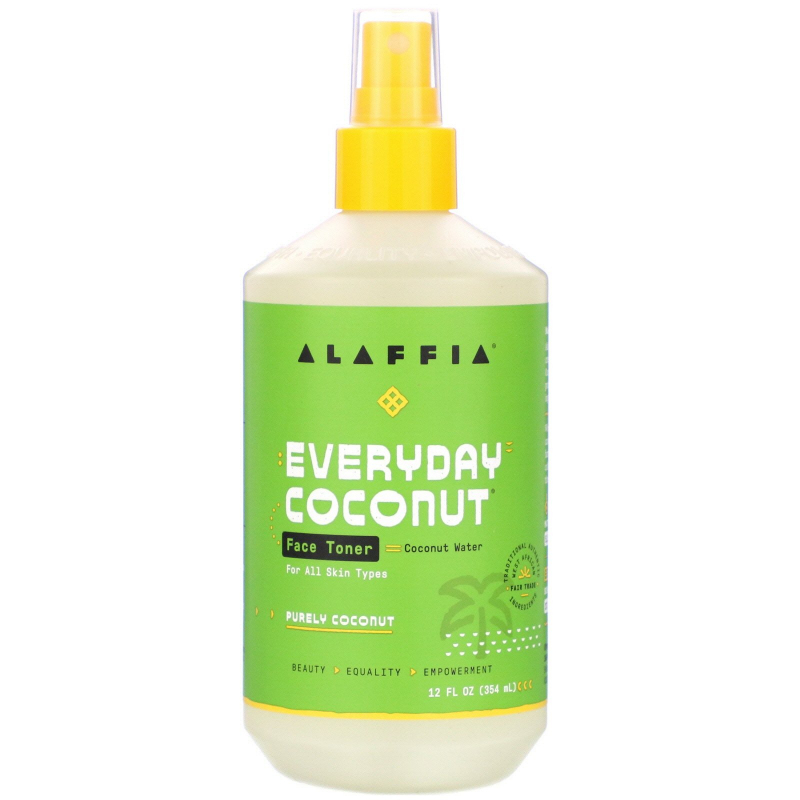 Everyday Coconut, Face Toner, Purely Coconut, Normal to Dry Skin, 12 fl oz (354 ml)