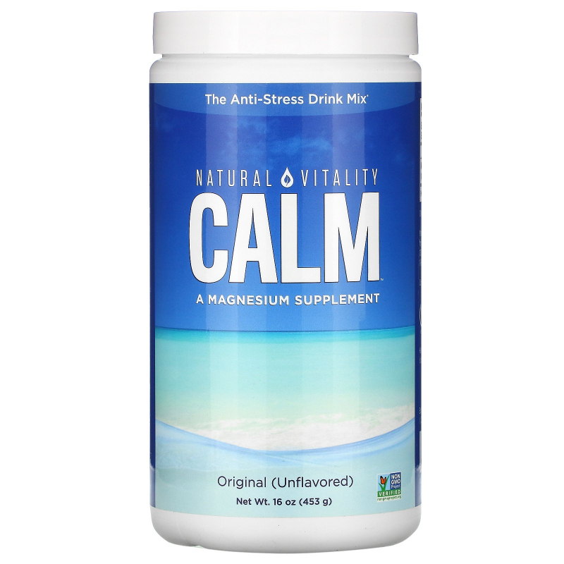 Natural Vitality, Natural Calm, The Anti-Stress Drink, Original (Unflavored), 16 oz (453 g)