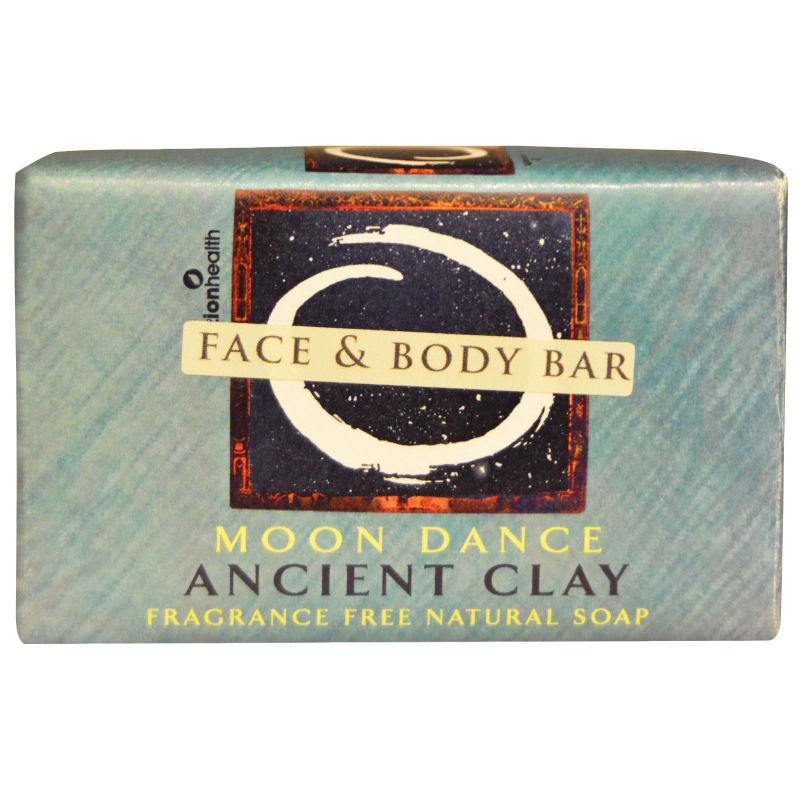 Zion Health, Ancient Clay Natural Soap, Moon Dance, Fragrance Free, 6 oz (170 g)