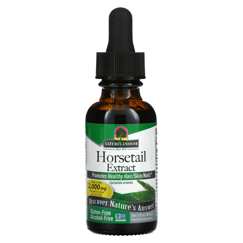 Nature's Answer, Horsetail, Alcohol-Free, 2000 mg, 1 fl oz (30 ml)