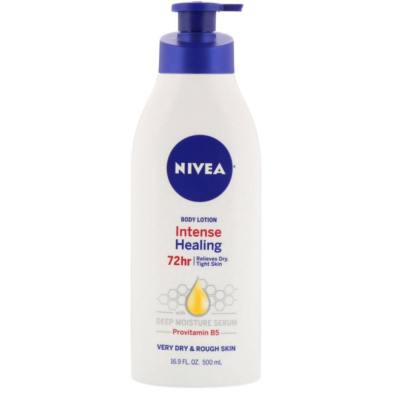 Nivea, Intense Healing Body Lotion, Very Dry & Rough Skin, 16.9 fl oz (500 ml)