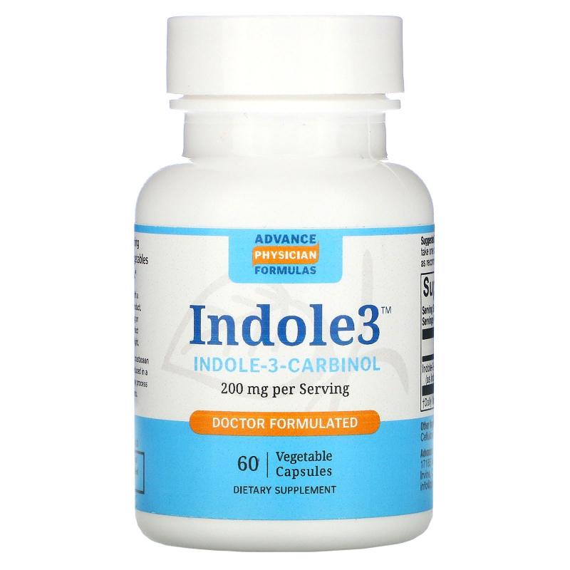 Advance Physician Formulas, Inc., Indole-3-Carbinol, 200 mg, 60 Veggie Caps