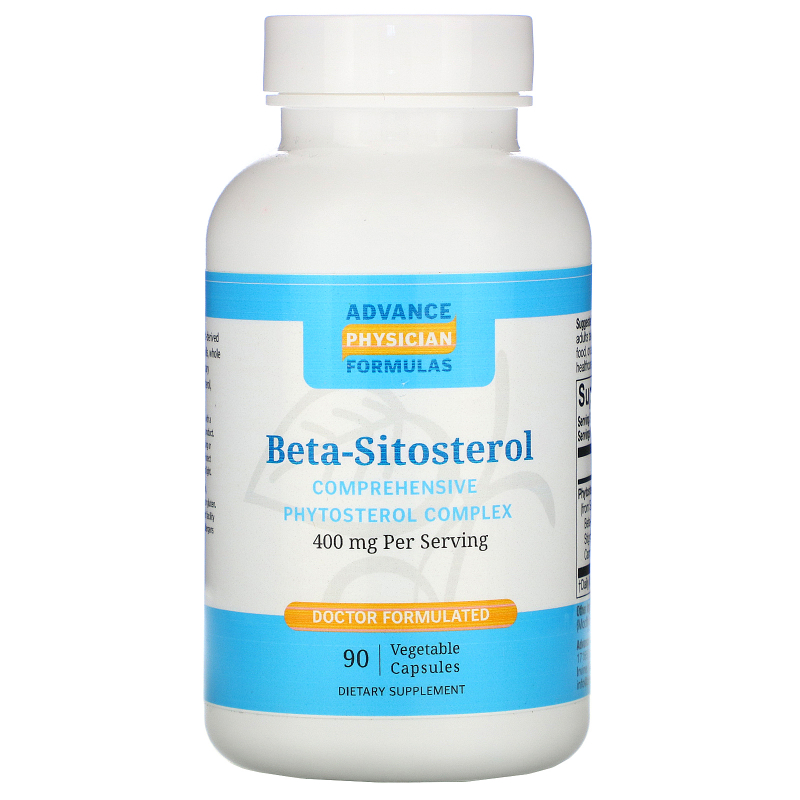Advance Physician Formulas, Inc., Beta Sitosterol, 400 mg, 90 Capsules