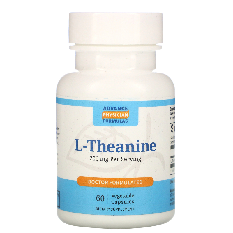 Advance Physician Formulas, Inc., L-Theanine, 200 mg, 60 Capsules
