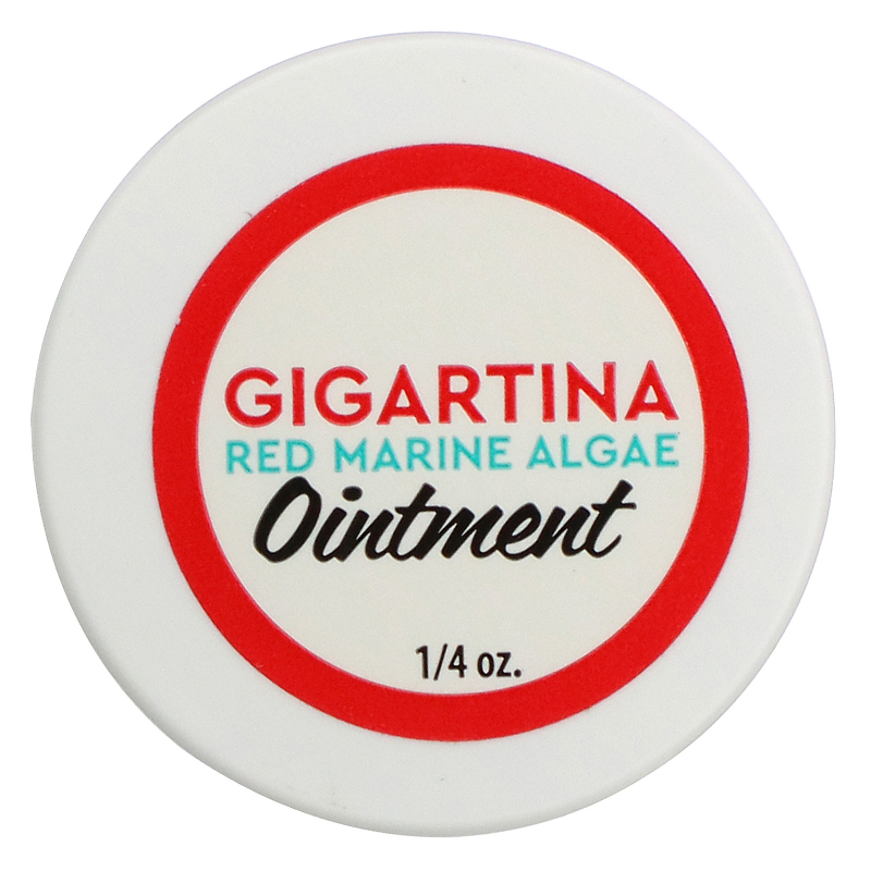Vibrant Health, Gigartina Red Marine Algae Ointment, 1/4 oz