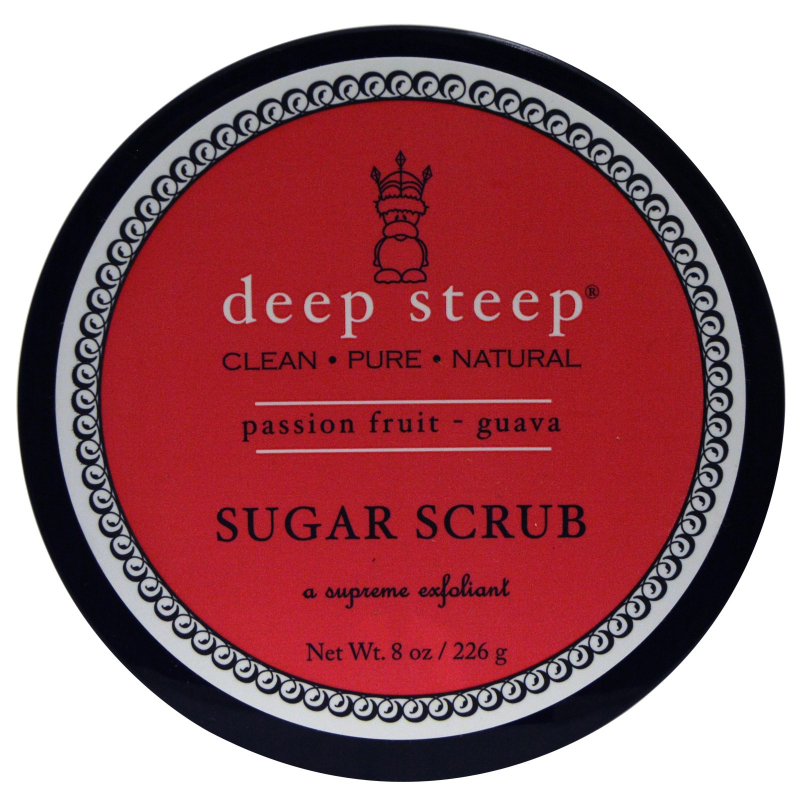 Deep Steep, Sugar Scrub, Passion -  Fruit Guava, 8 oz (226 g)
