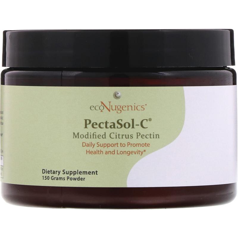 Econugenics, PectaSol-C Modified Citrus Pectin, Powder, 150 g