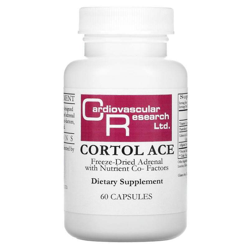 Cardiovascular Research Ltd., Cortol Ace, 60 Capsules