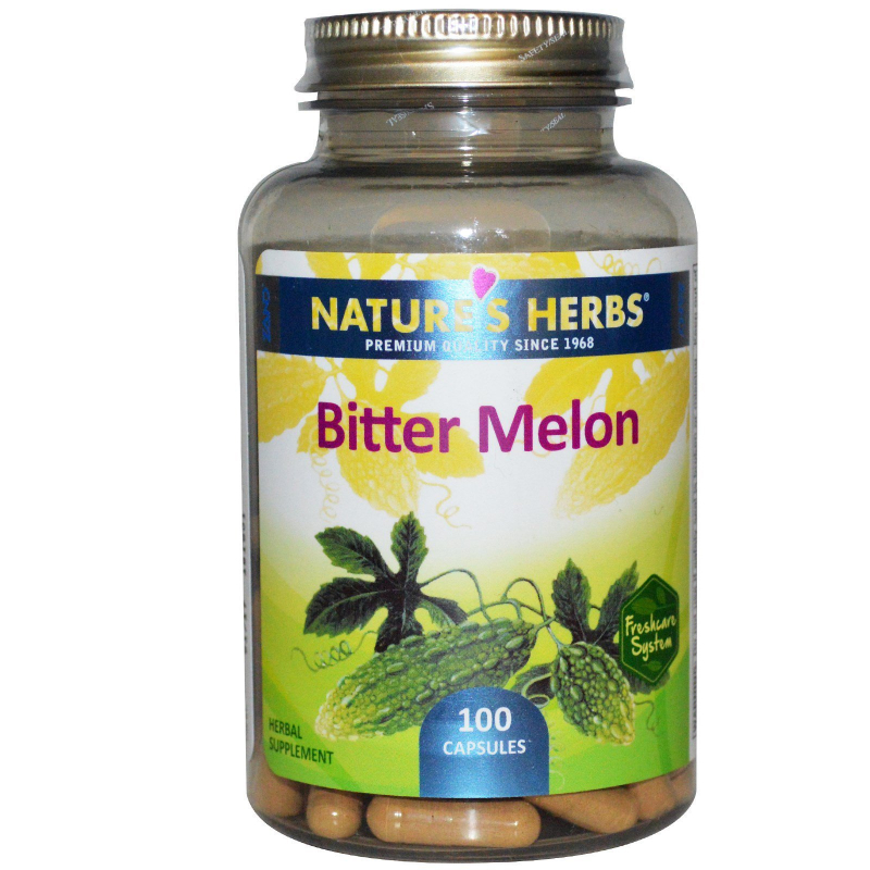 Nature's Herbs, Bitter Melon, 100 Capsules