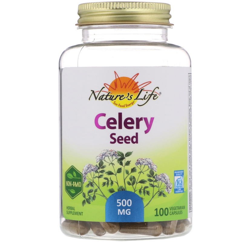 Nature's Herbs, Celery Seed, 100 Capsules