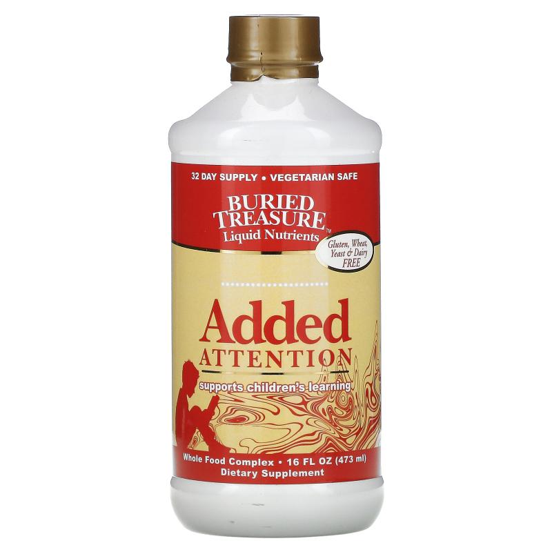 Buried Treasure, Liquid Nutrients, Added Attention, 16 fl oz (473 ml)