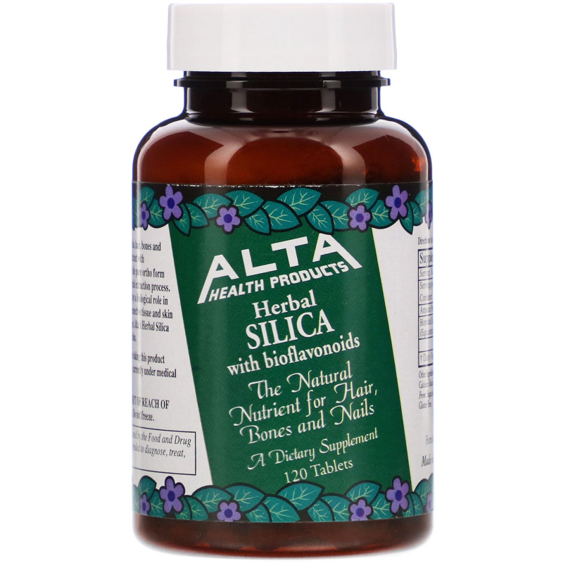 Alta Health, Herbal Organic Silica with Bioflavonoids, 120 Tablets