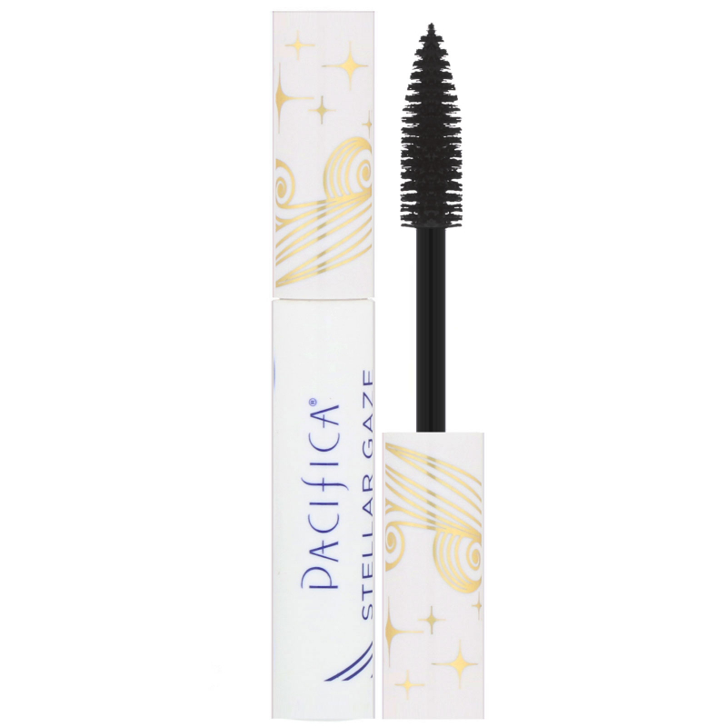 Pacifica, Stellar Gaze, Length & Strength Mineral Mascara, Supernova Black, 0.25 oz (7.1 g)