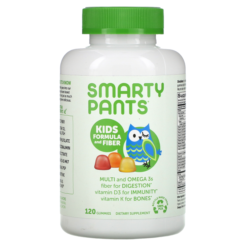SmartyPants, Kids Complete and Fiber Multivitamin, 120 Gummies