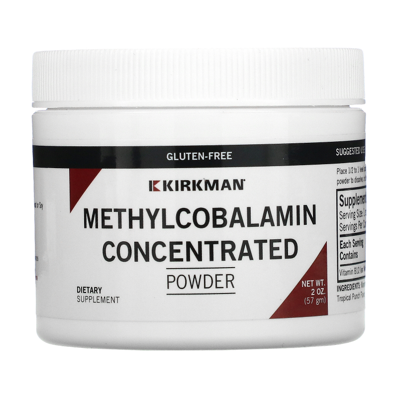 Kirkman Labs, Methylcobalamin Concentrated Powder, 2 oz (57 g)