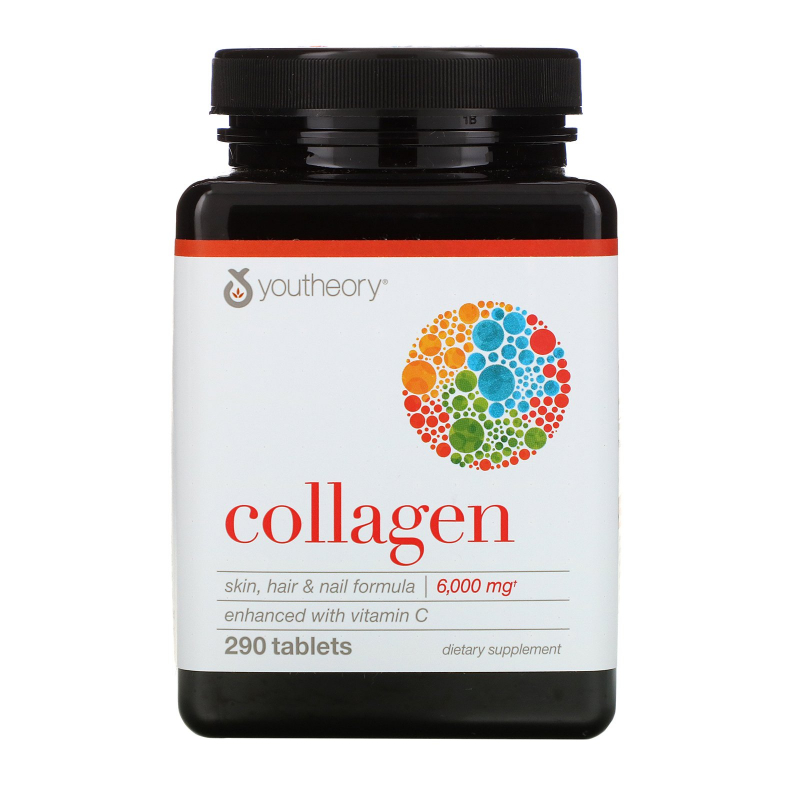 Youtheory, Collagen, 6,000 mg, 290 Tablets