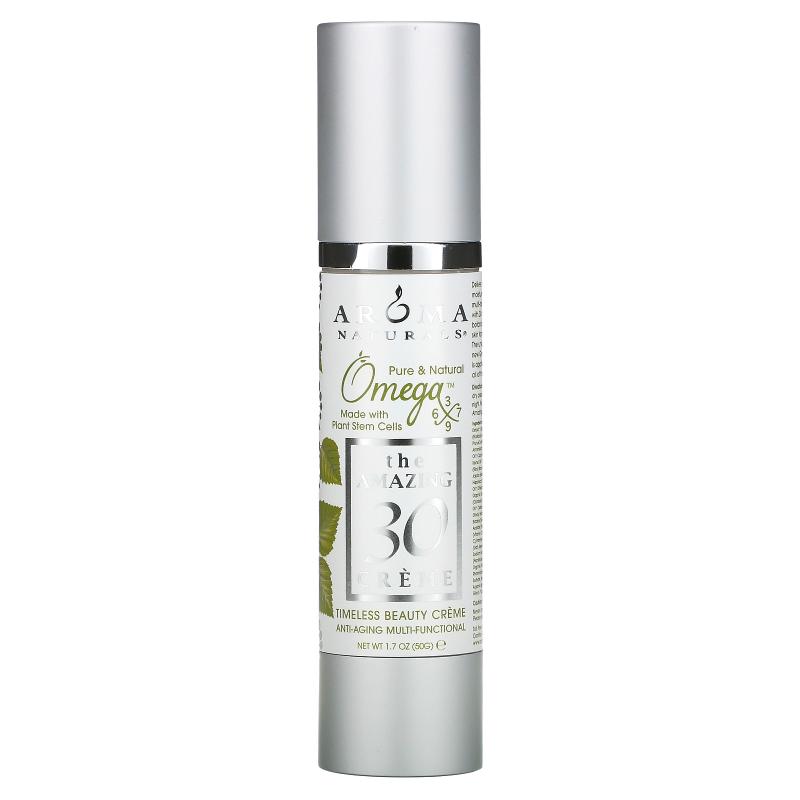 Aroma Naturals, The Amazing 30 Creme, Anti-Aging Multi-Functional, 2 oz (60 g)